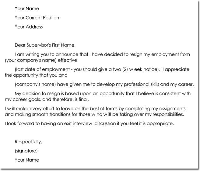 Formal Business Letter Templates  Samples  Formats