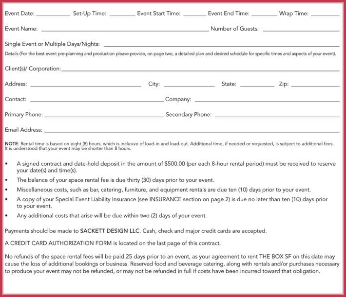 free edit room rental agreement template