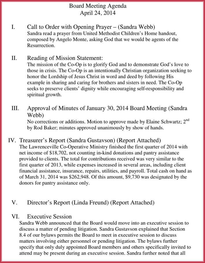 client meeting agenda template