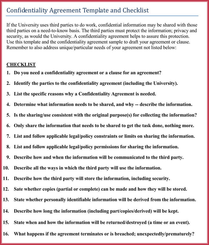 editable basic confidentiality agreement