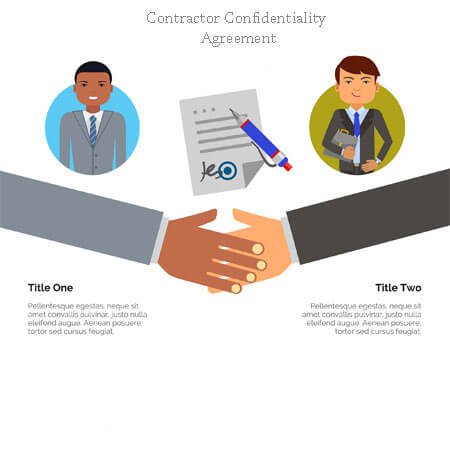 sample of contractor confidentiality agreement