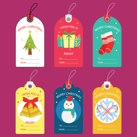 Free printable gift tag templates for Microsoft Word