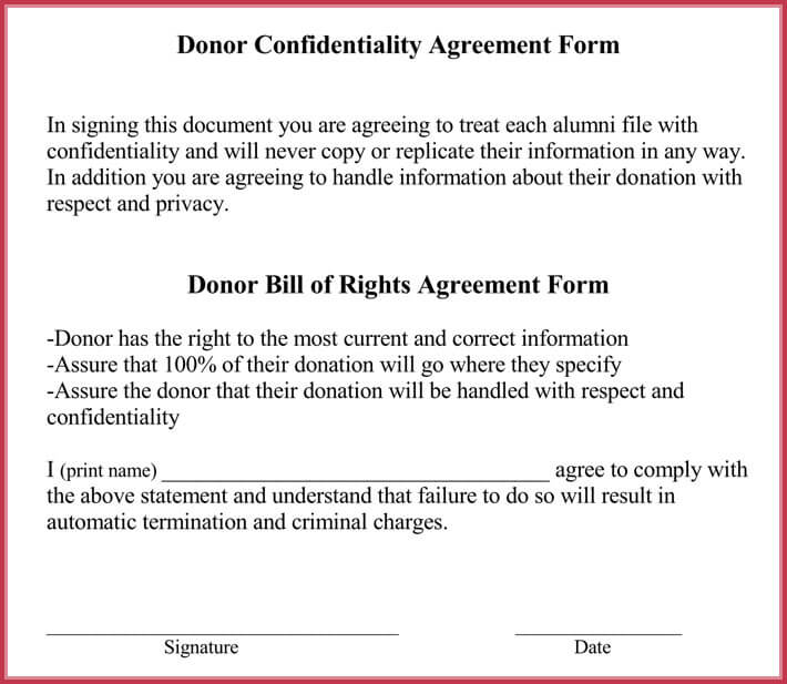 Generic Confidentiality Agreement   Professional Samples  Formats