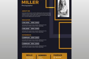 Biography Examples and Templates