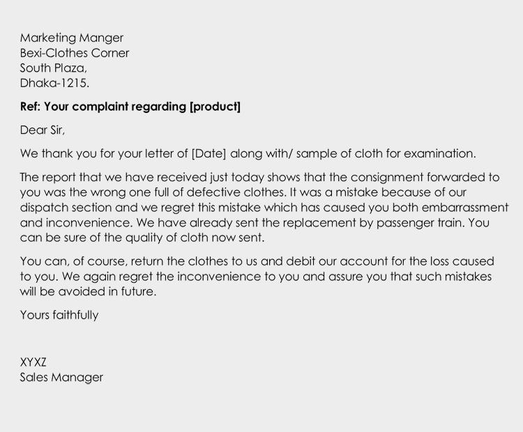 Formal Letter Sample Doc