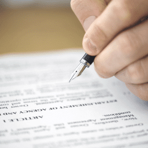 Sign a Non-Disclosure Agreement
