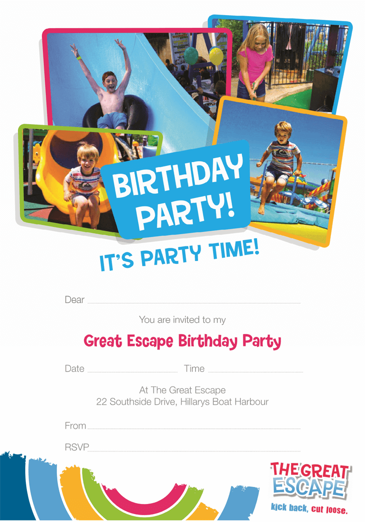 birthday invitation template example