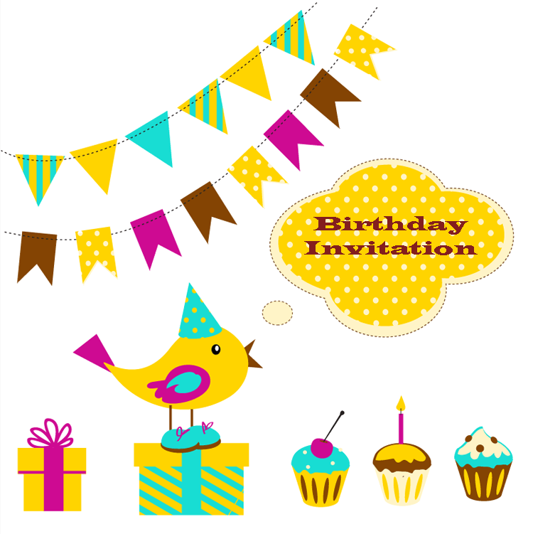 edit birthday invitation template