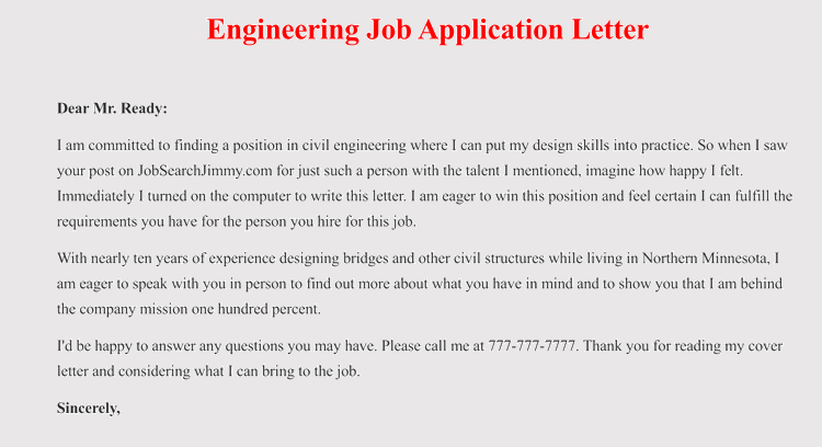 edit job application follow up letter