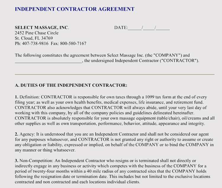 sample employment agreement fatics tk