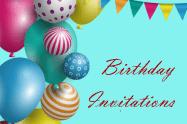 sample of birthday invitaion