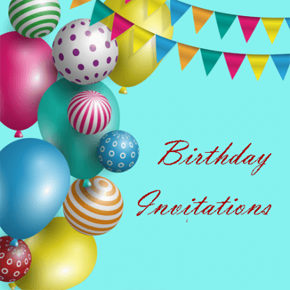 sample of birthday invitaion