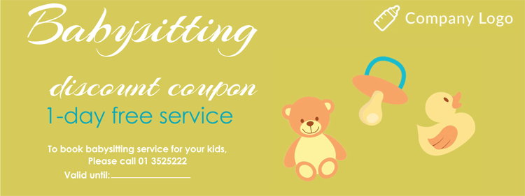 Babysitting Coupon Sample