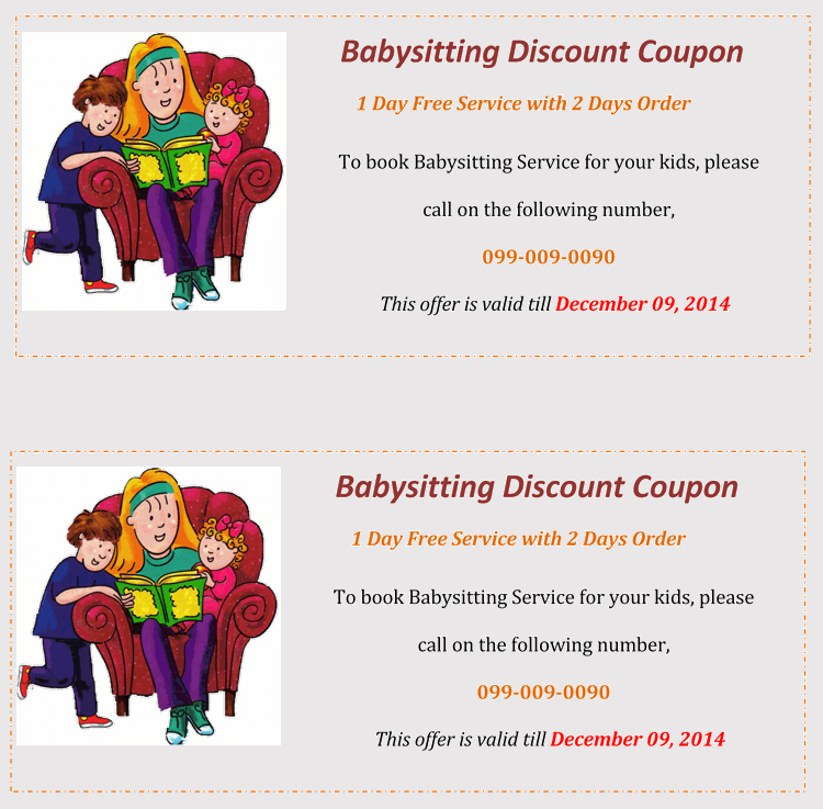 Printable Funny Gift Coupons
