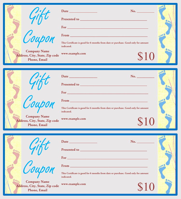 Christmas Gift Coupons Free