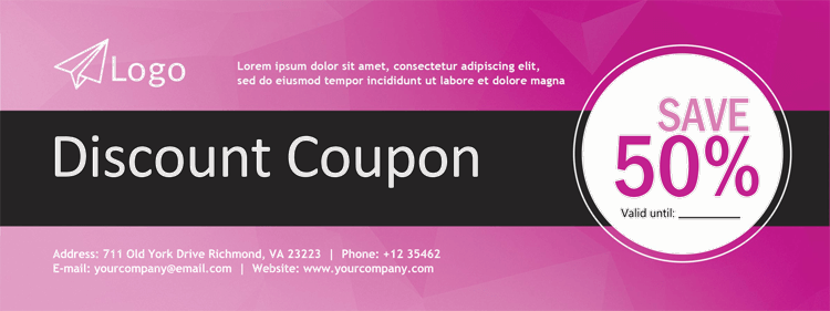 Editable Gift Coupon Free