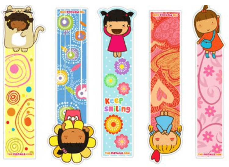 Bookmark Template To Color