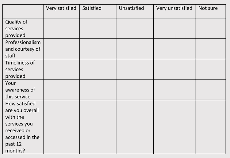 Likert Scale Instructions