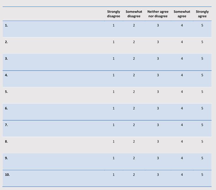 Service Satisfaction Survey Template 02
