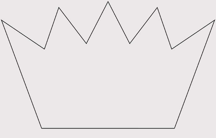 Blank Crown Template
