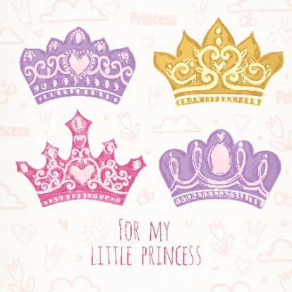 Free printable paper crown templates