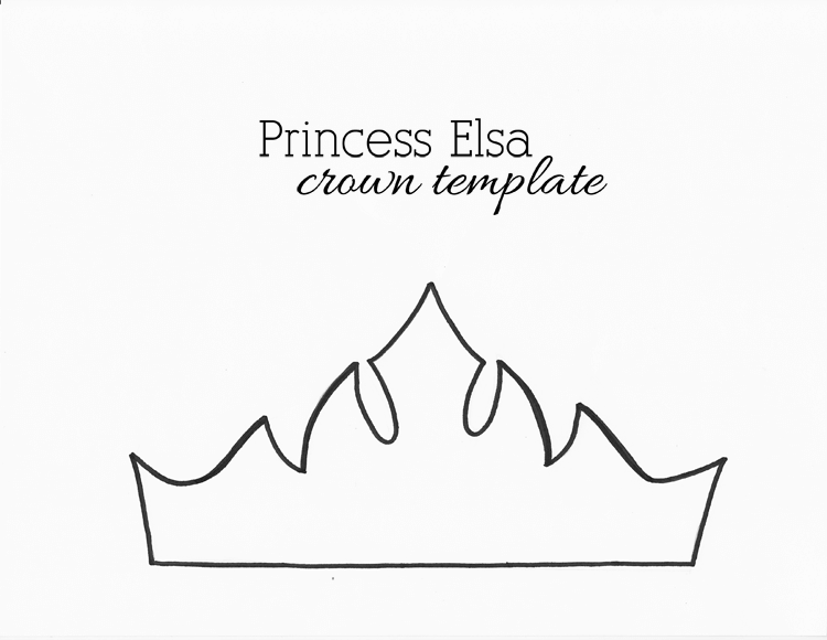 Wearable Crown Template