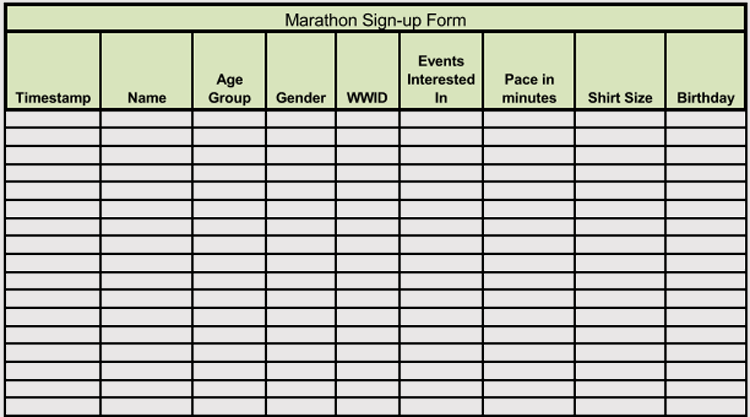 45+ Sign-up / Sign-in Sheet Templates (For Excel & Word)