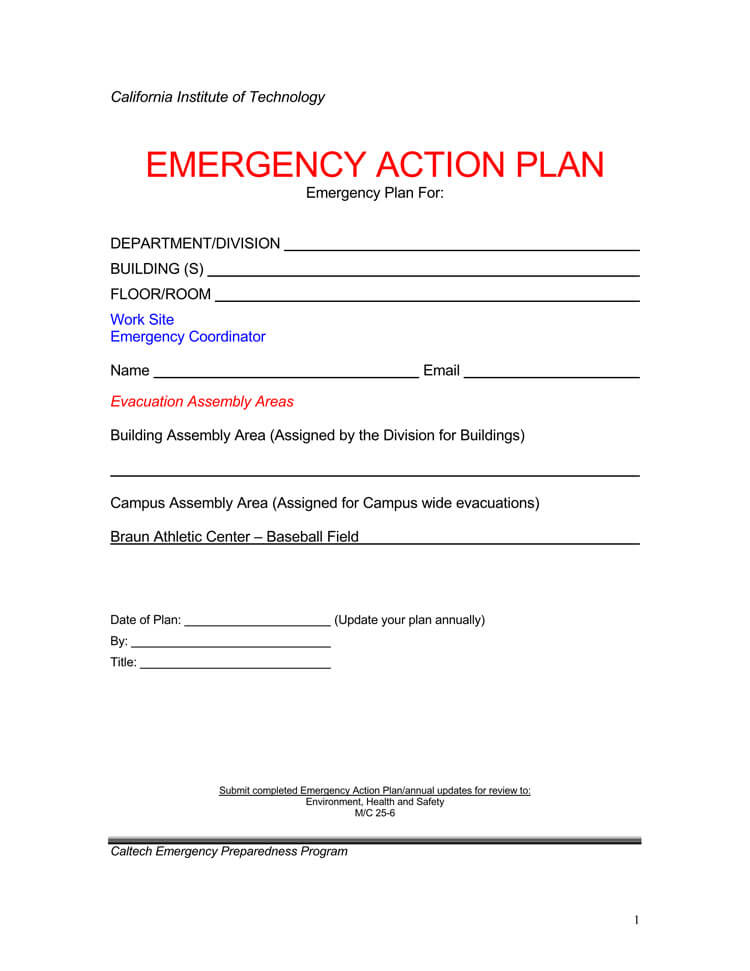 Emergency-Action-Plan-Format