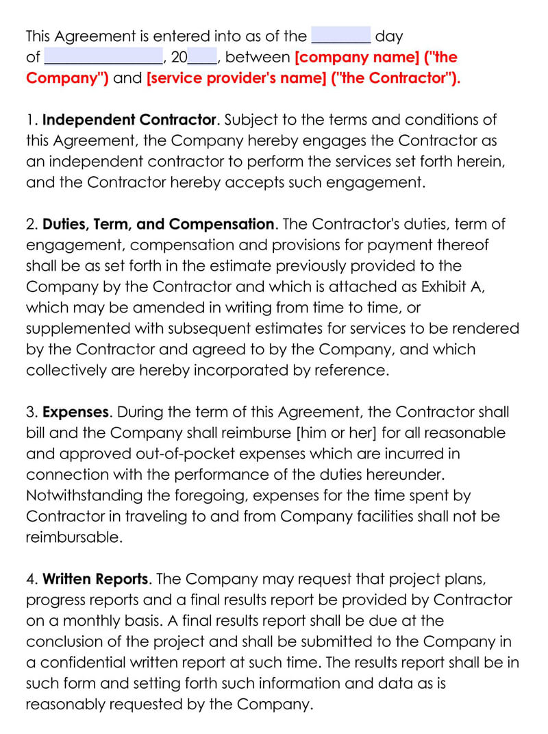 Sample-Independent-Contractor-Agreement