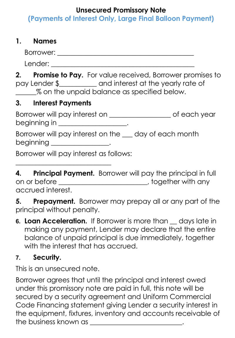 Unsecured-Promissory-Note-Template-08