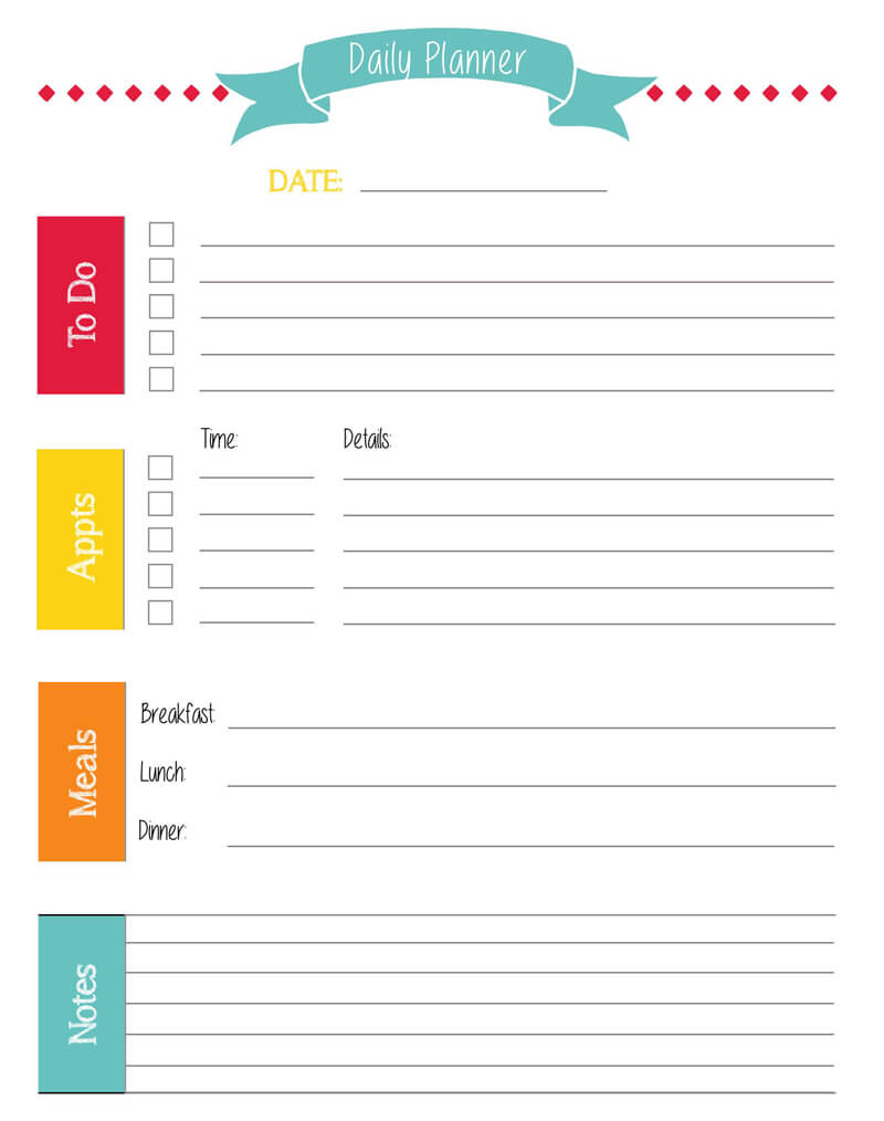 Daily Planner Template PDF 11
