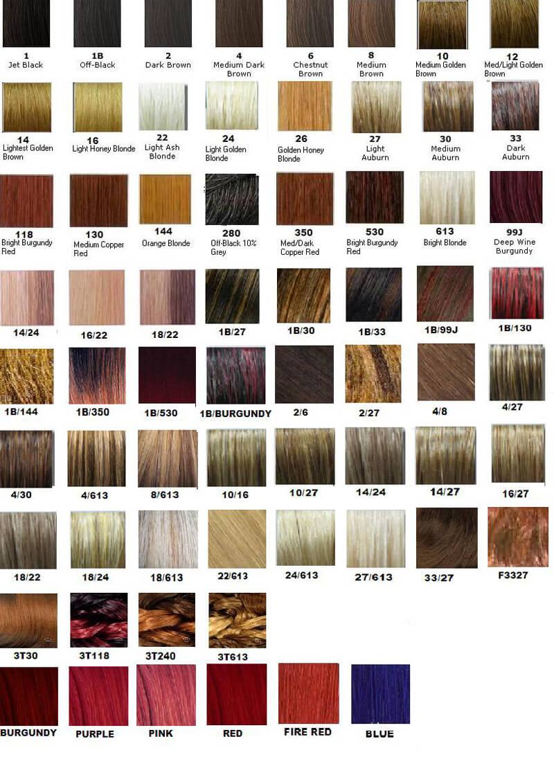 Redken Shades EQ Color Chart 12