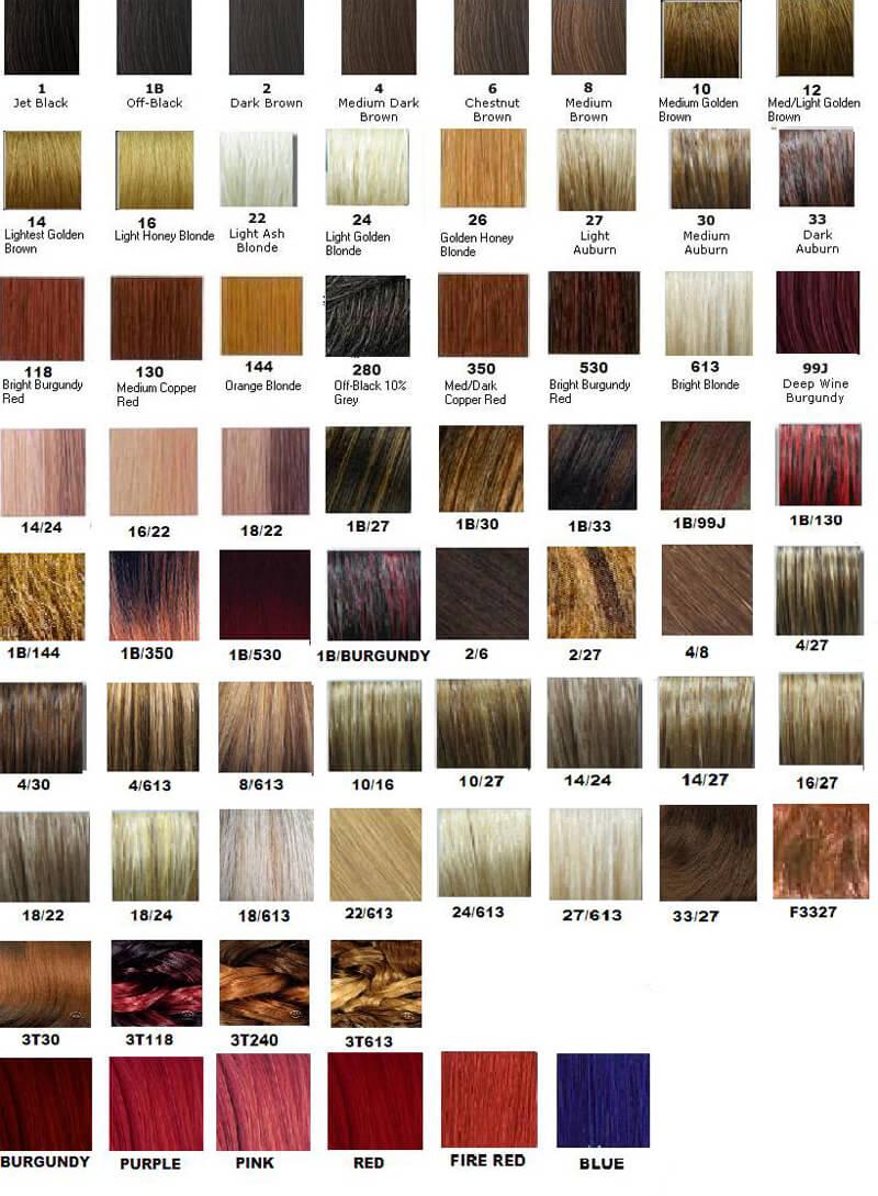 Redken Shades EQ Color Chart 13