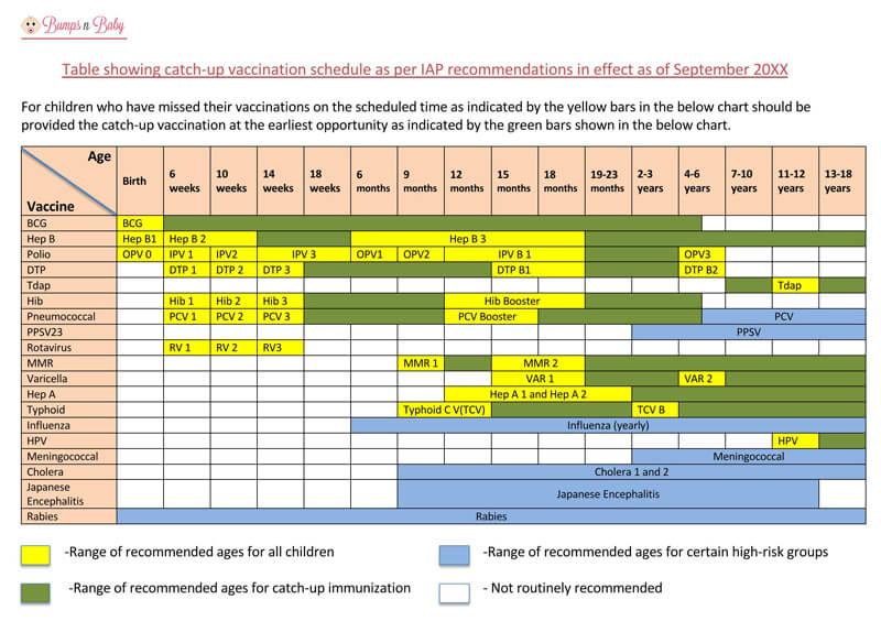 Vaccination Schedule PDf Chart 02
