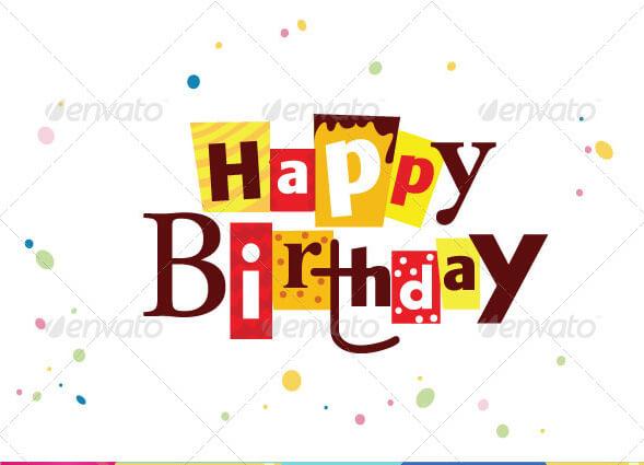 Birthday Card Template 14