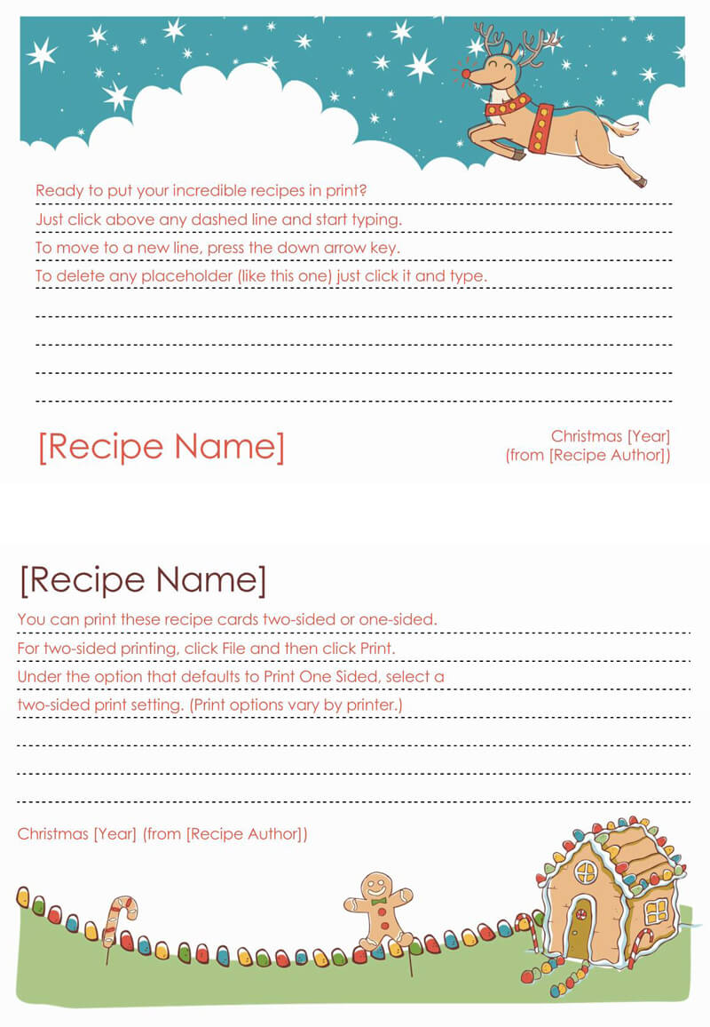 Cookbook Template 05