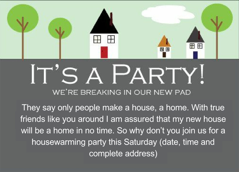 Housewaming Party Invitation Template 07