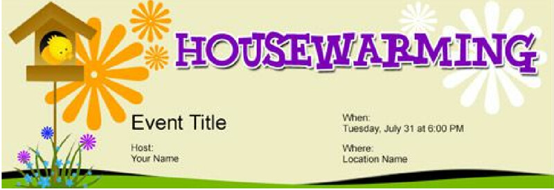 Housewaming Party Invitation Template 17