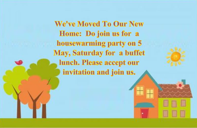 Housewaming Party Invitation Template 20