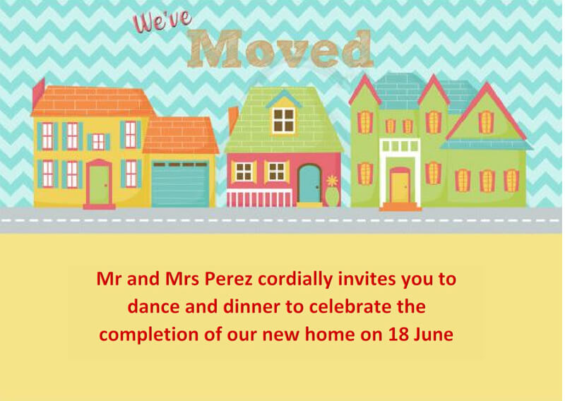 Housewaming Party Invitation Template 21