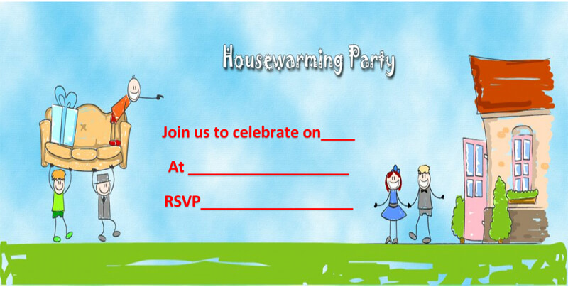 Housewaming Party Invitation Template 32
