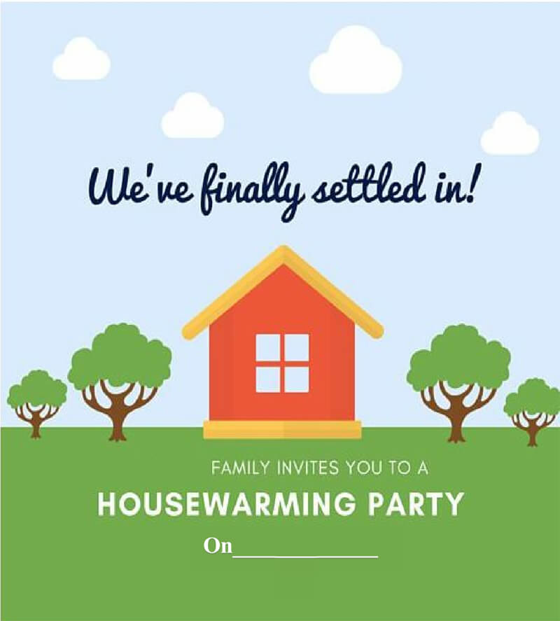 Housewaming Party Invitation Template 36
