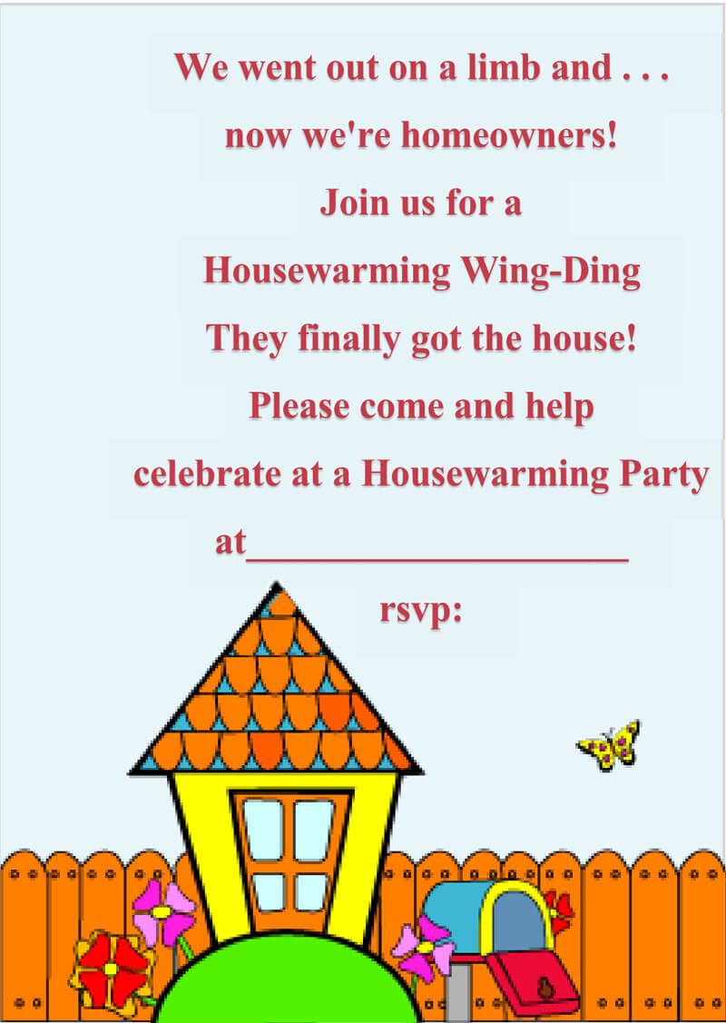 Housewaming Party Invitation Template 42