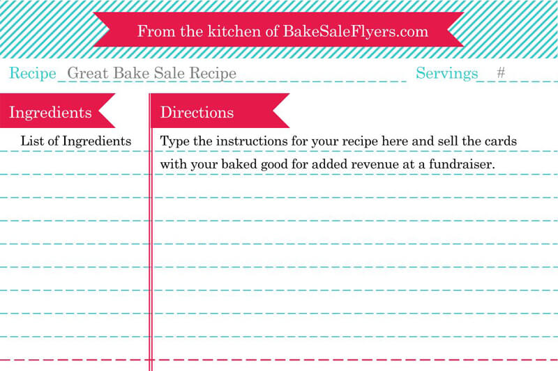 Sample Cookbook Template