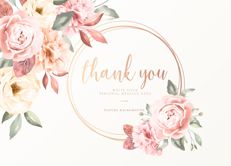 Thank You Card 14