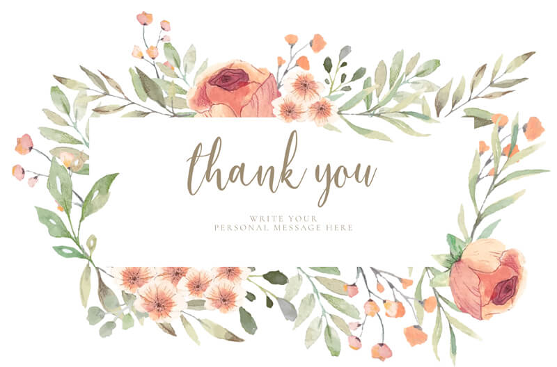 Thank You Card 15