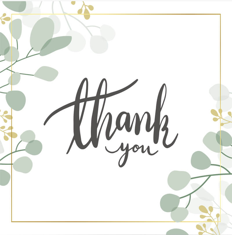 Thank You Card 16