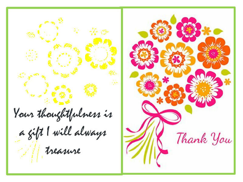 Thank You Card Template 02
