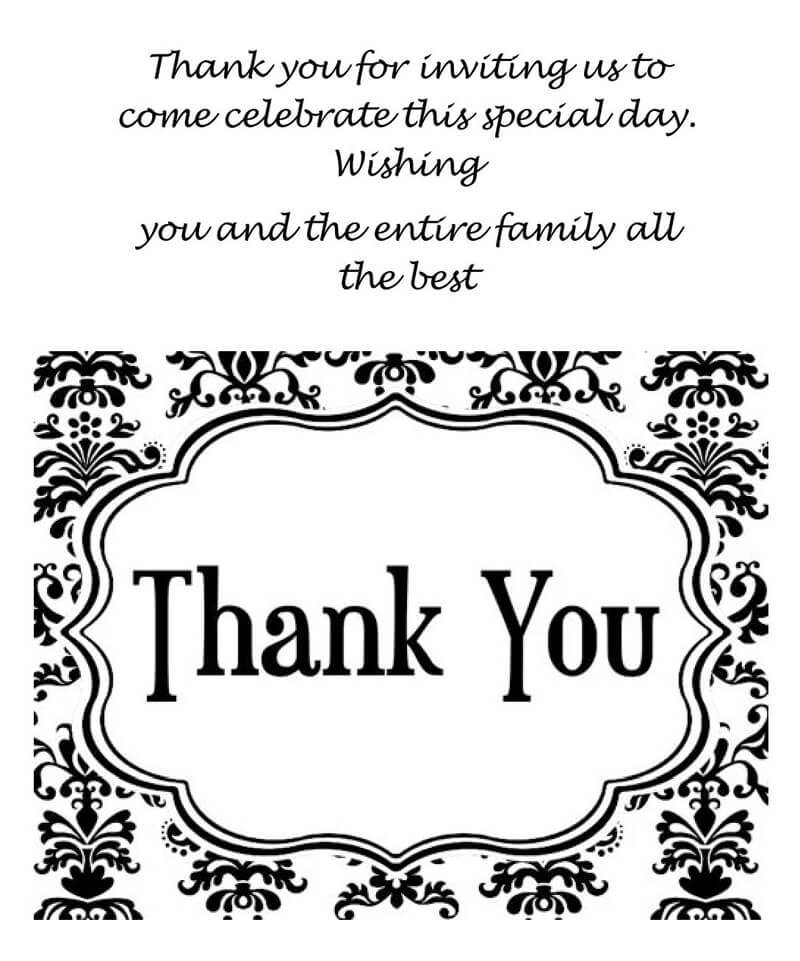 Thank You Card Template 06