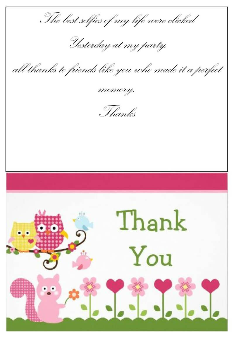 Thank You Card Template 11